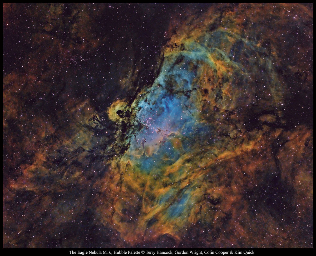M16 The Eagle Nebula by Terry Hancock