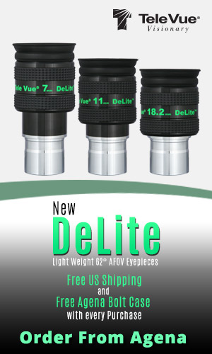 TeleVue DeLite Eyepieces - On Sale Now at AgenaAstro.com